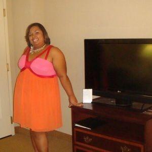 Plus size Color block party dress